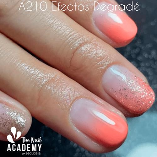 A210 - Efectos degradé en esmaltado permanente