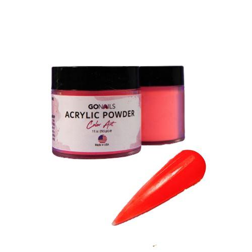 Acrílico Go Nails Powder Color Art #39 Neón 28 gr
