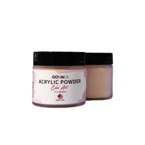 Acrílico Go Nails Powder Color Art #51 Pastel 28 gr