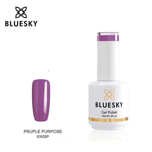 BLUESKY Esmalte gel  63926 Morado - Orquidea