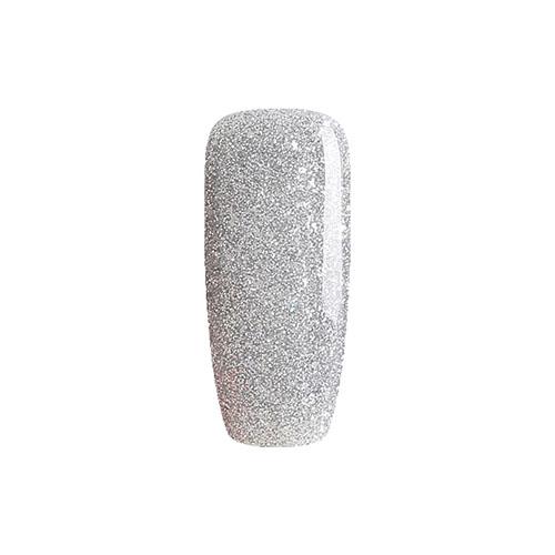 BLUESKY Esmalte Gel 80573 Glitter plateado semi-Holo