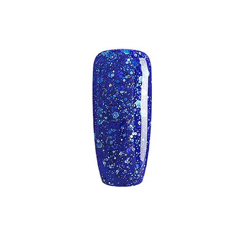BLUESKY Esmalte Gel BLZ02 Azul Rey Glitter mix