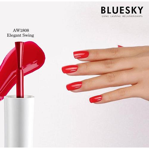 BLUESKY Esmalte Gel ELEGANT SWING- Rojo