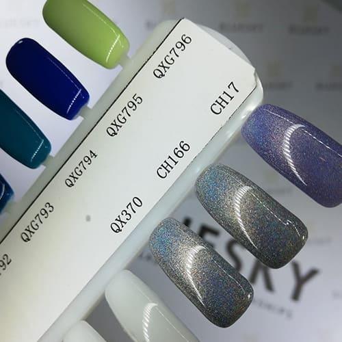 BLUESKY Esmalte Gel holografico CH17