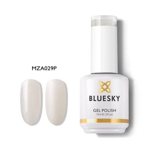 BLUESKY ESMALTE GEL MZA29 BRILLO CON GLITTER SUAVE