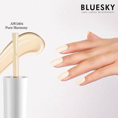 BLUESKY Esmalte Gel PURE HARMONY- Blanco hueso