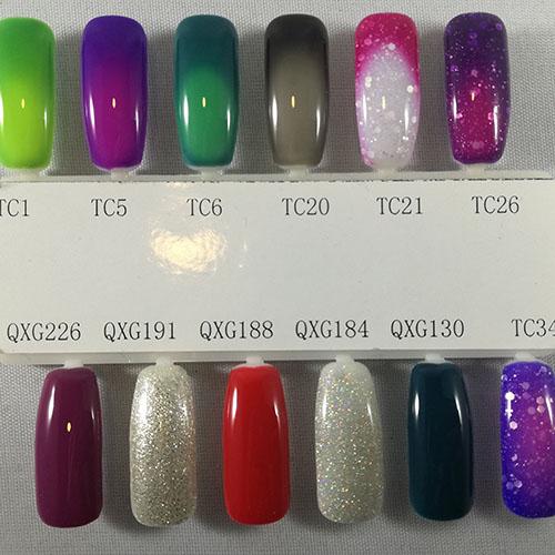 BLUESKY Esmalte Gel QXG184 Glitter fino semi holo