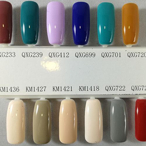 BLUESKY Esmalte Gel QXG701 Verde esmeralda claro