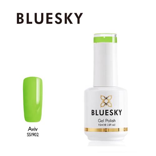 BLUESKY Esmalte Gel SS1902 - Verde Manzana