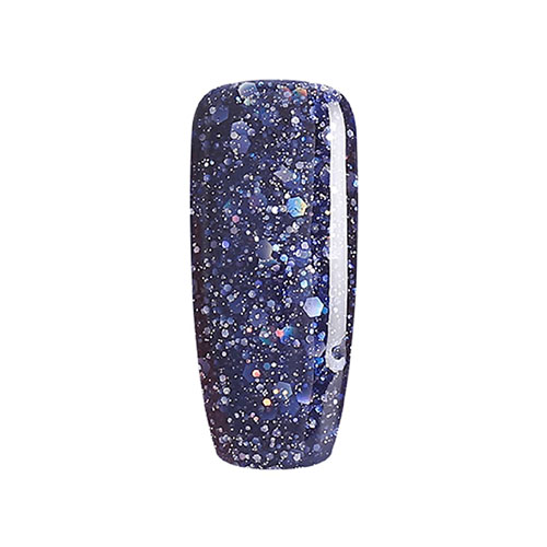 BLUESKY Esmalte Permanente BLZ25 Azul Oscuro Glitter