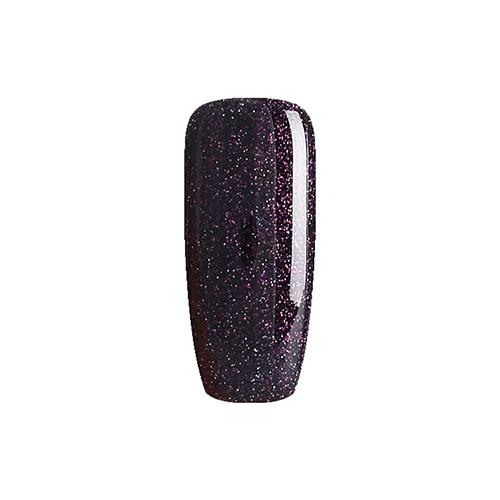 BLUESKY Esmalte Permanente DC22 Morado negroso con glitter