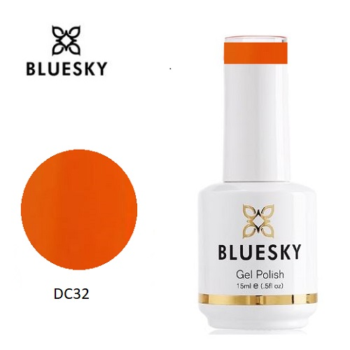 BLUESKY Esmalte Gel DC32 - Naranjo