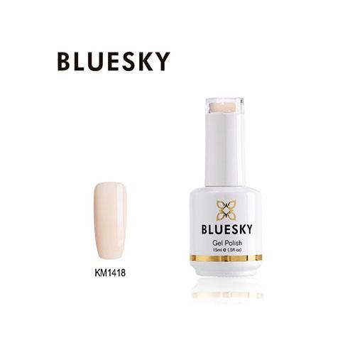 BLUESKY Esmalte Permanente KM1418 Nude Rosado - Damasco pastel