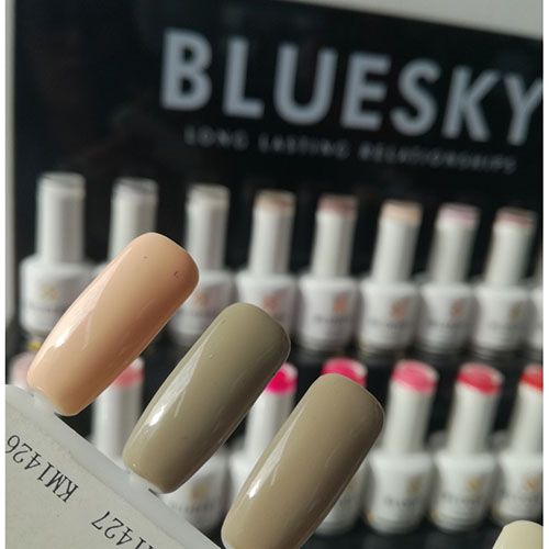BLUESKY Esmalte Permanente KM1426 Nude Damasco