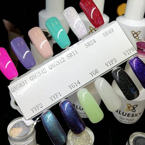 BLUESKY Esmalte Gel QXG312 - Nude Rosado pastel