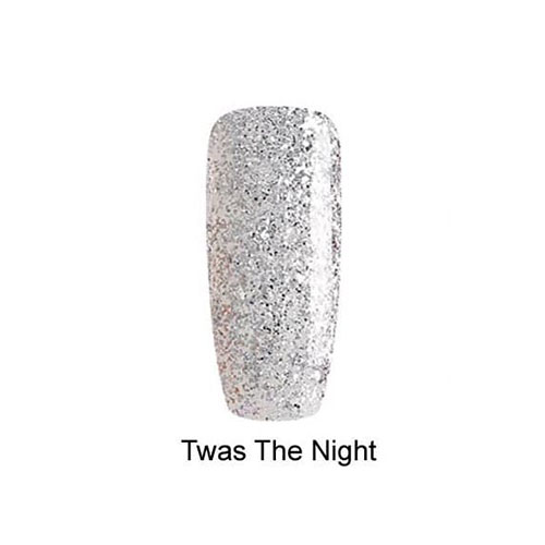 BLUESKY Esmalte Gel Twas the night Full glitter plateado