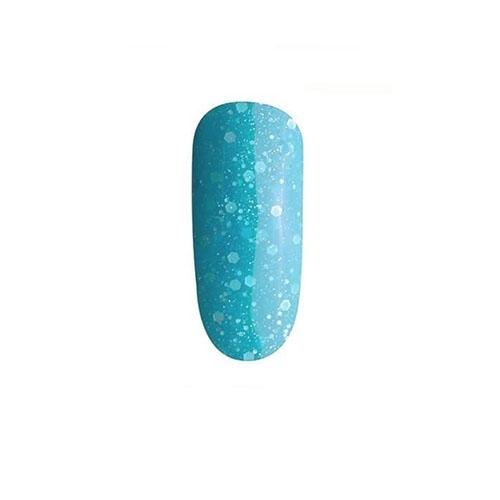 BLUESKY Esmalte Permanente XK36 Celeste traslucido con glitter