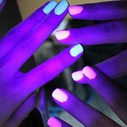 BLUESKY Esmalte Permanente YG006 Brillo traslúcido brilla en la Oscuridad