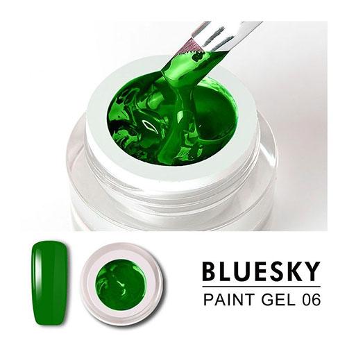 BLUESKY Gel Paint para diseño - 06 VERDE