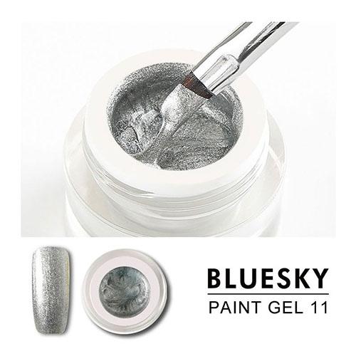 BLUESKY Gel Paint para diseño - 11 PLATEADO