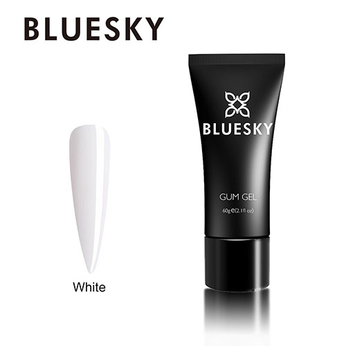 BLUESKY GUM GEL - White / Blanco 60 GRS