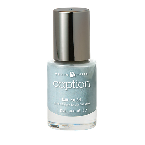 CAPTION Esmalte Extra duración - COME UP FOR AIR - celeste brillante
