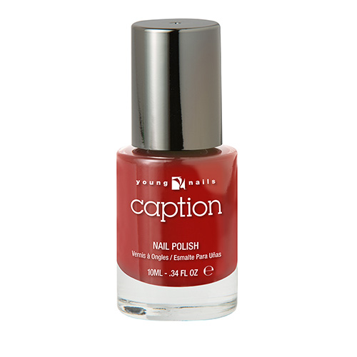 CAPTION Esmalte Extra duración - TURN IT UP! - Rojo brillante