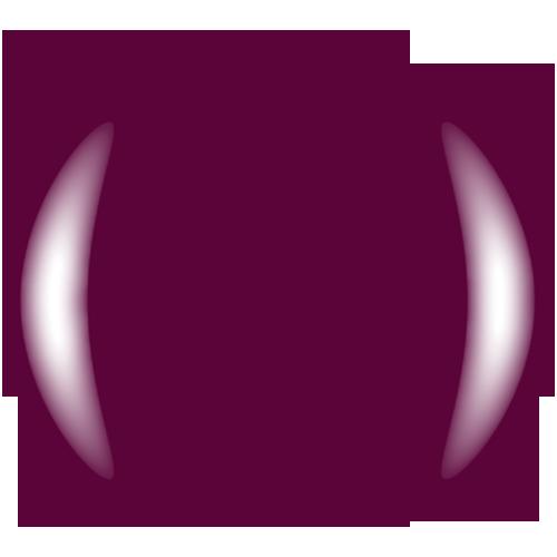 COLOR CLUB Esmalte Gel -  Curve 'em (Morado)