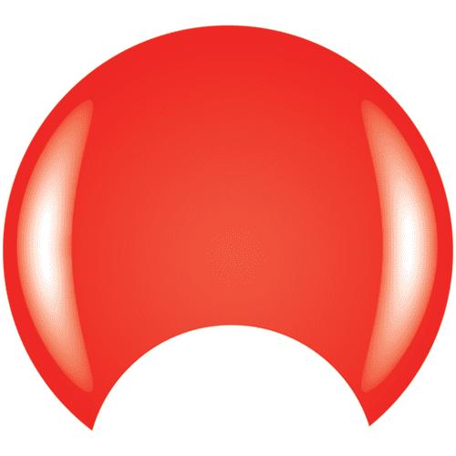 COLOR CLUB Esmalte Gel - Sweet As Sugarcane (Rojo anaranjado neon)
