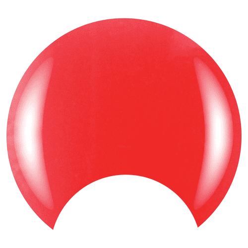 COLOR CLUB Esmalte Gel - Flushed (Coral traslúcido neon)