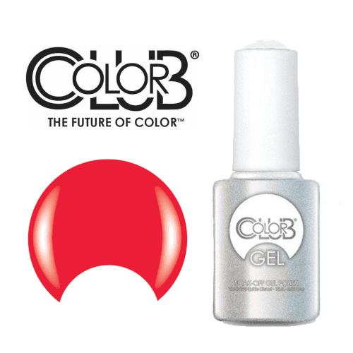 COLOR CLUB Esmalte Gel - Blaze (Rojo neon)
