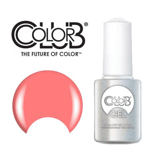 COLOR CLUB Esmalte Gel - Get It, Girl! (Rosado pastel neon)