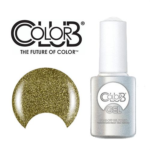 COLOR CLUB Esmalte Gel - Gold Glitter (Dorado)