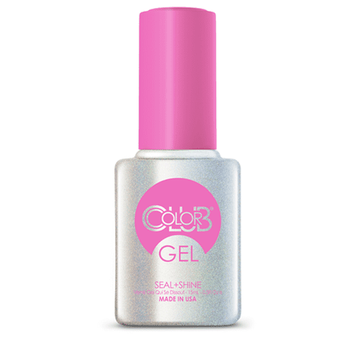 COLOR CLUB Esmalte Gel Top Coat - Seal + Shine