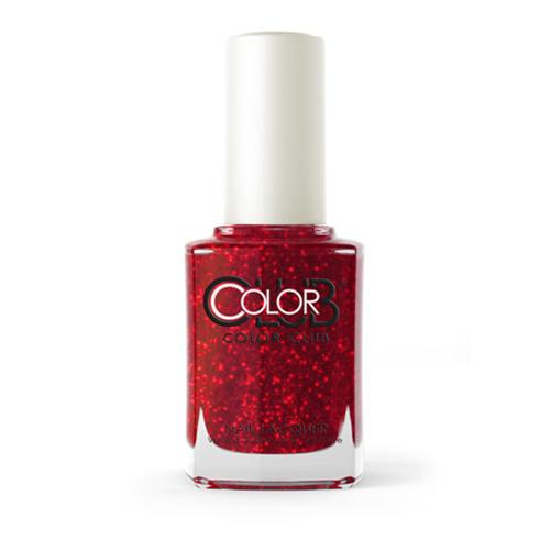 COLOR CLUB Tradicional -  Ruby Slippers (Tinta roja con microglitter rojo)