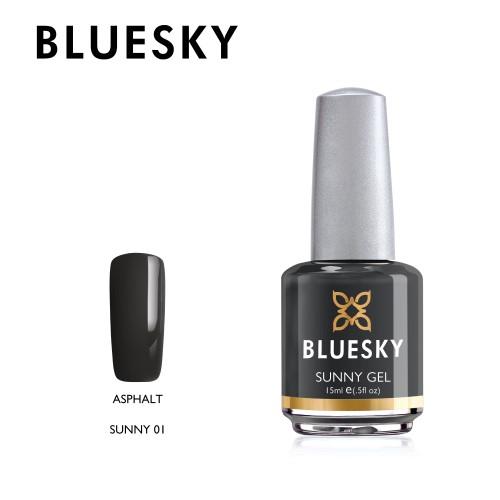 Esmalte tradicional Bluesky - Sunny 01 Asphalt