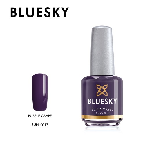 Esmalte Tradicional Bluesky - Sunny17 Purple grape