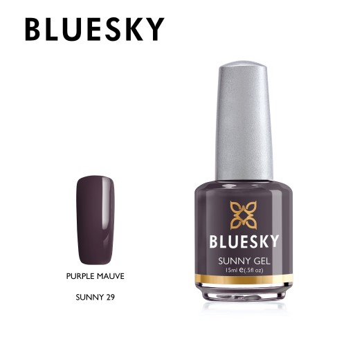 Esmalte tradicional Bluesky - Sunny29 purple mauve - morado (KM1171)