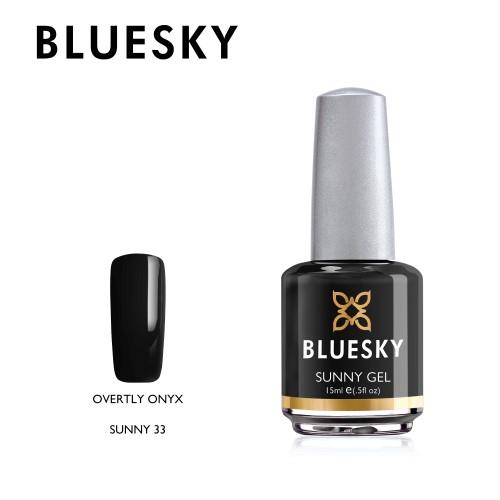 Esmalte Tradicional Bluesky - Sunny33 Overtly Onyx
