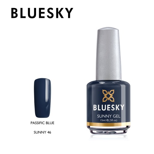 Esmalte Tradicional Bluesky - Sunny46 Passific Blue