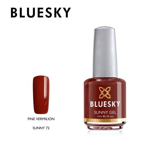 Esmalte Tradicional Bluesky - Sunny72 Fine Vermilion
