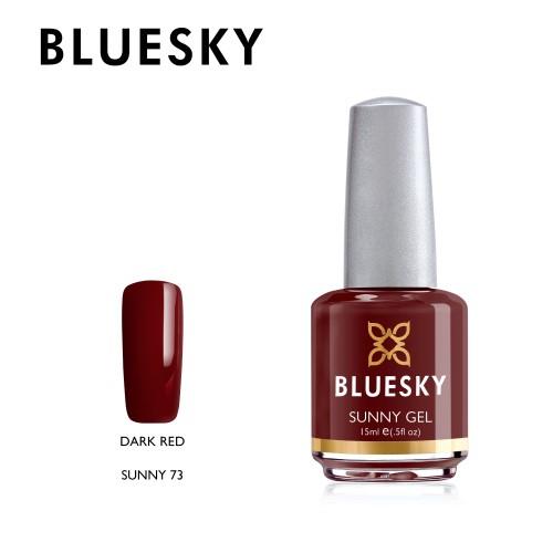 Esmalte Tradicional Bluesky - Sunny73 Dark Red