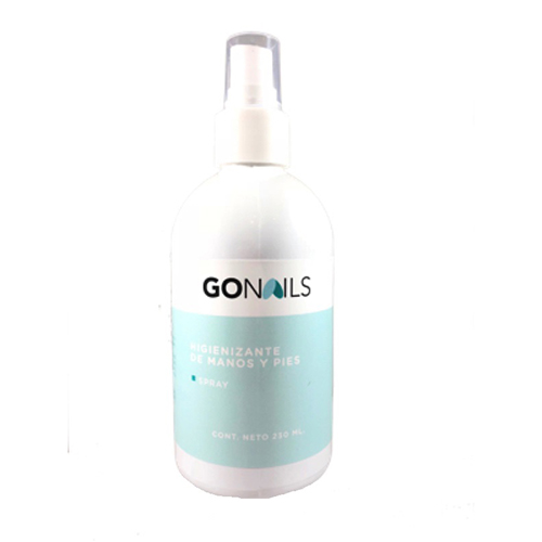 GO Nails - Higienizante Manos y Pies 230ml