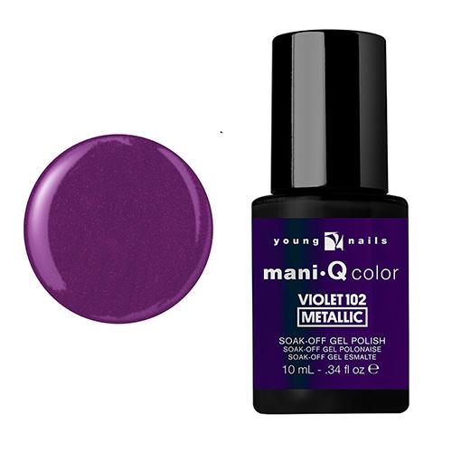 Mani-Q Esmalte Gel - Violet 102 metalico