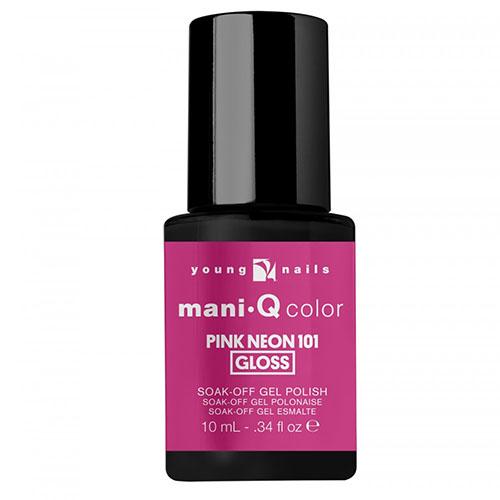 Mani-Q Esmalte Permanente - Pink Neon 101 - Rosado Neon