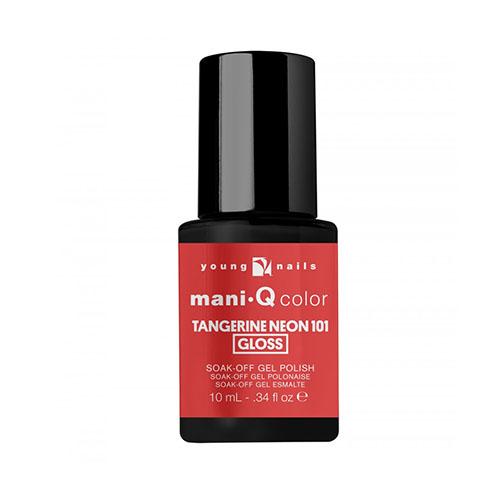 Mani-Q Esmalte Permanente - Tangerine Neon 101 Rosado - Anaranjado