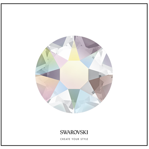 Swarovksi 50 Cristales - Crystal Aurora Boreale SS14