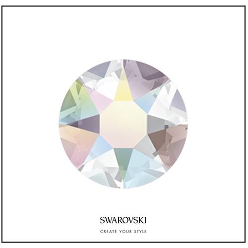 Swarovksi 50 Cristales - Crystal Aurora Boreale SS7