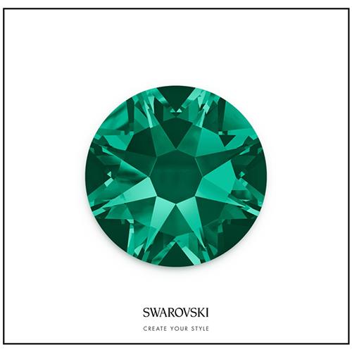 Swarovski 50 Cristales - Emerald SS9