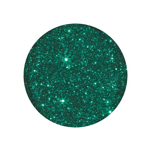 Young Nails Polvo Glitter 7g Emerald Green